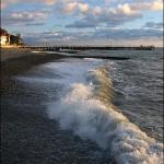 Зимнее Черное море