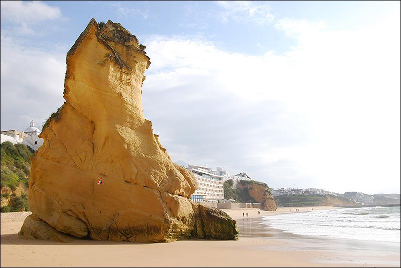 Пляж Альбуфейры