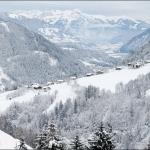 Вид на долину Zillertal