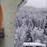 Мобилофото: скалодром в Gerlos\'е