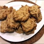 Овсяное печенье с яблочным пюре