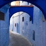 Марокко. Синий
