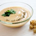 Суп из цуккини и груш