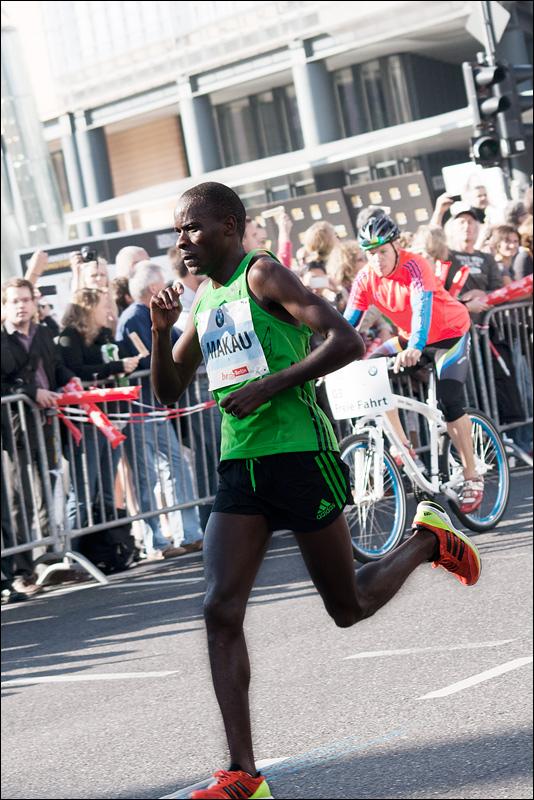 Будущий победитель (Макау) на 38-ом км
