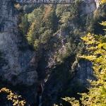 Ущелье у подножья Neuschwanstein