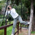 На смотровой площадке над Lago di Garda