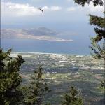 Псеримос. Вид с тропы на вершину Dikeos