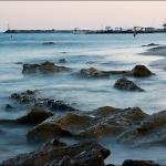 Порт Кардамены на закате