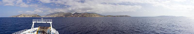 Калимнос. Вид с парома
