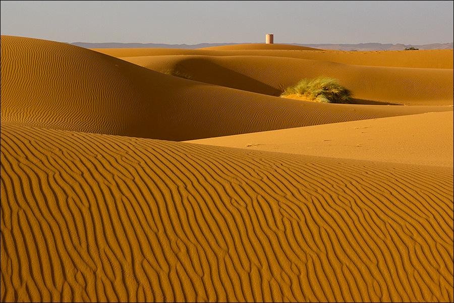 Островок пустыни возле Мерзуги
