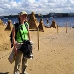 2005 год. Питер, парк песочных скульптур