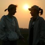 2006 год. С Наташкой Резепиной на Шершнях