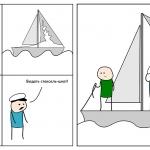 Приключения капитана Хм..., разворот 3