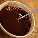 Растопленный шоколад (он же глазурь)