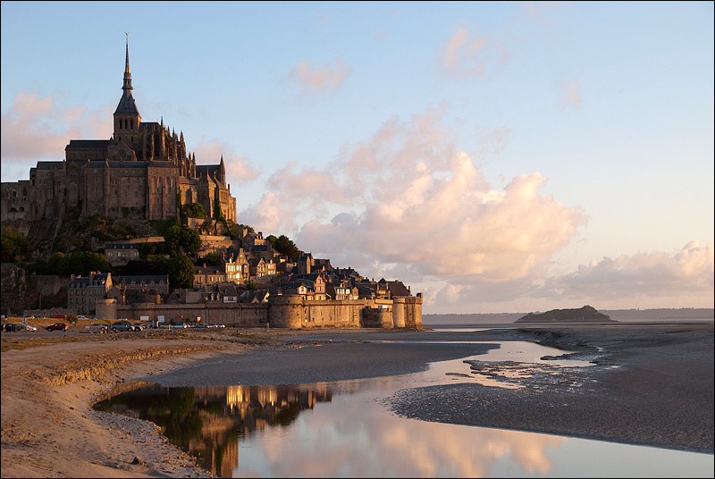 Mont Saint-Michel. Восход