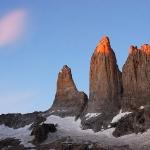 Рассвет на Torres del Paine