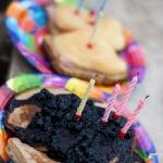 Праздничные оладьи и бутерброды на ДР Андрюхи :)