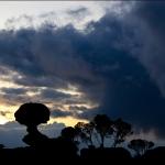 Закат на плато Рораймы