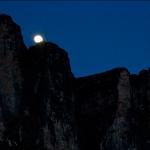 Восход луны над Рораймой