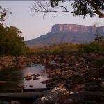 Рассвет над рекой Kukenan